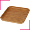 "Wilmax Natural Bamboo Plate 5"" X 5"" - bakeware bake house kitchenware bakers supplies baking"