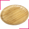 "Wilmax Natural Bamboo Plate 4"" - bakeware bake house kitchenware bakers supplies baking"