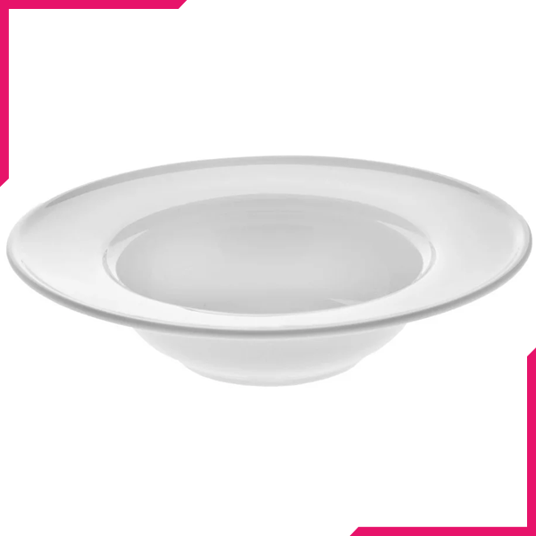 "Wilmax Fine Porcelain Deep Plate 6"" - bakeware bake house kitchenware bakers supplies baking"