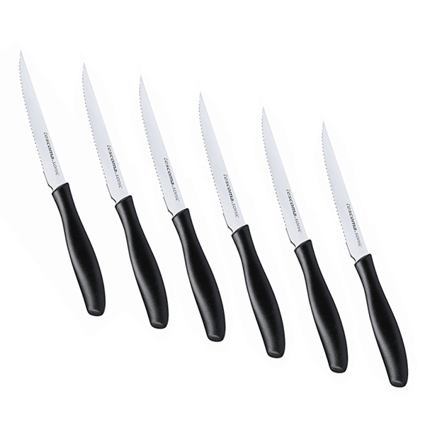 Tescoma  12cm 6Pcs Steak Knife Set - bakeware bake house kitchenware bakers supplies baking