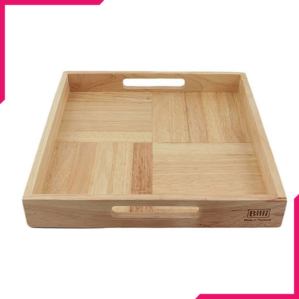Billi Wooden Tray - bakeware bake house kitchenware bakers supplies baking