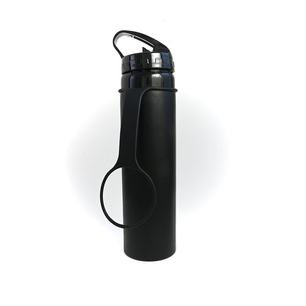 Collapsible Silicone Sports Bottle 600ml