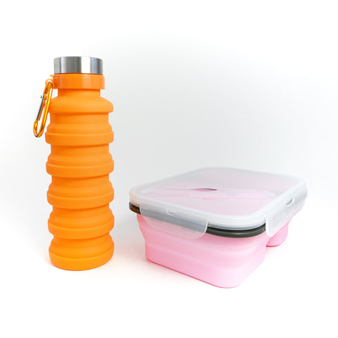 Drink Bottle / Medium Lunchbox Set