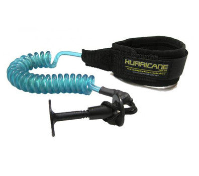 Hurricane Coiled Hand Tied Wrist Leash
