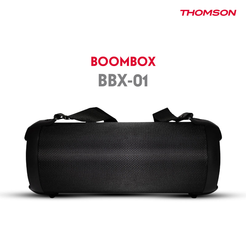 Thomson BBX01 Boombox Portable Bluetooth Speaker(Black)