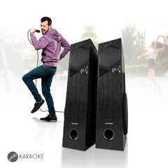 Thomson TSP10 100Watts Bluetooth Tower Speakers (Black)
