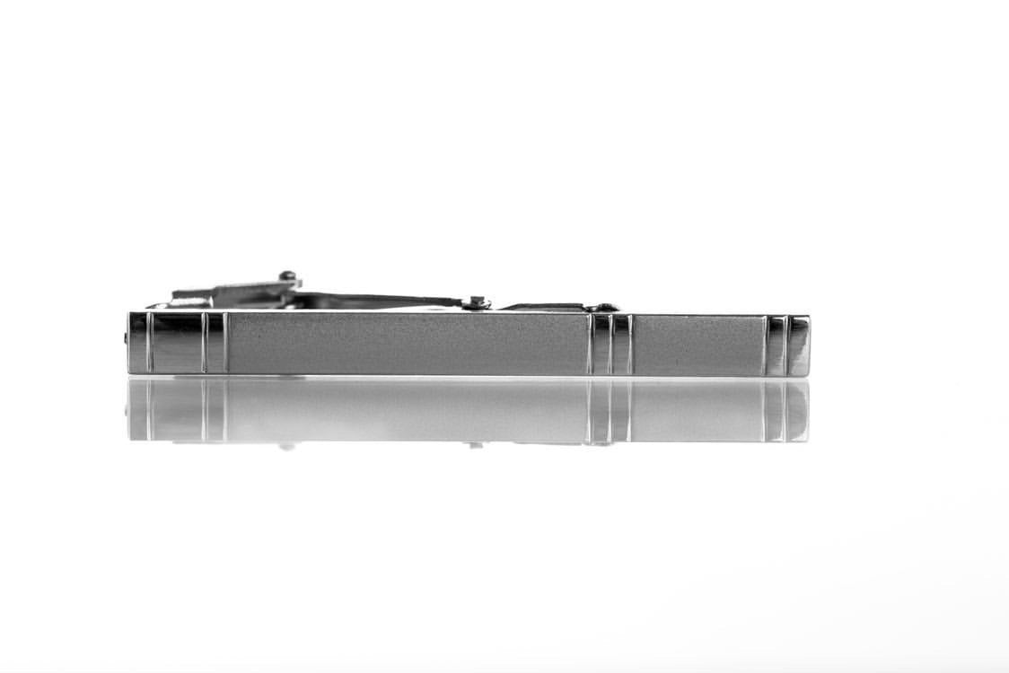 High-Quality Classic Silver Professional Tie Bar Clip