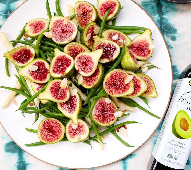 Fig and Green Bean Salad