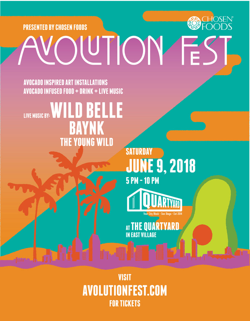 Avolution Fest  -  June 9, 2018  |  San Diego, CA