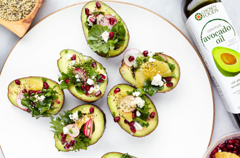 Avocado OIl Stuffed Avos