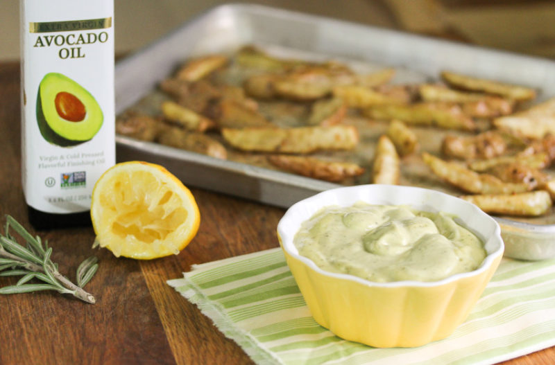Rosemary & Garlic Avocado Aioli