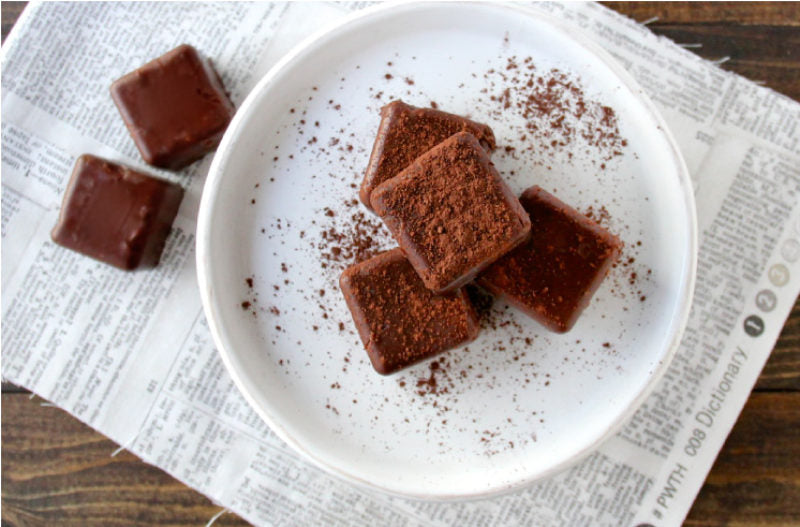 Healthy Chocolate Treats with Chia Seeds