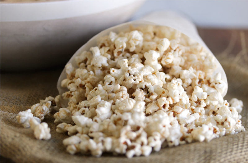 Sweet & Spicy Sesame Popcorn