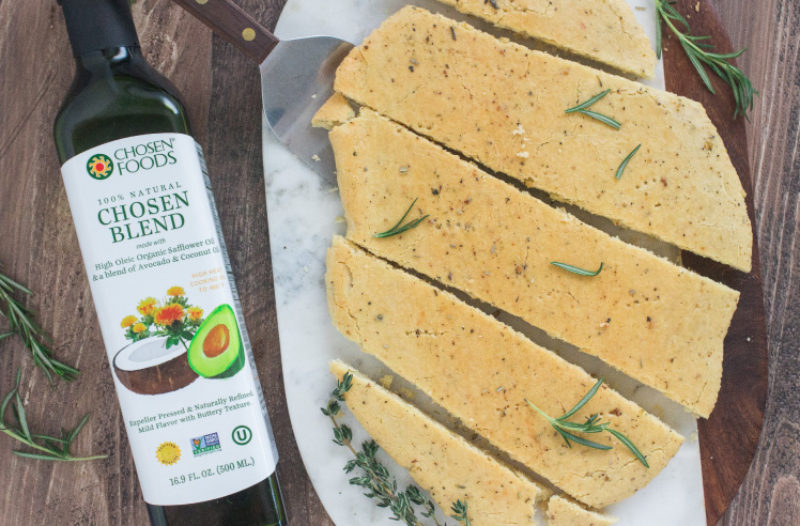 Gluten Free Flatbread with Herbs