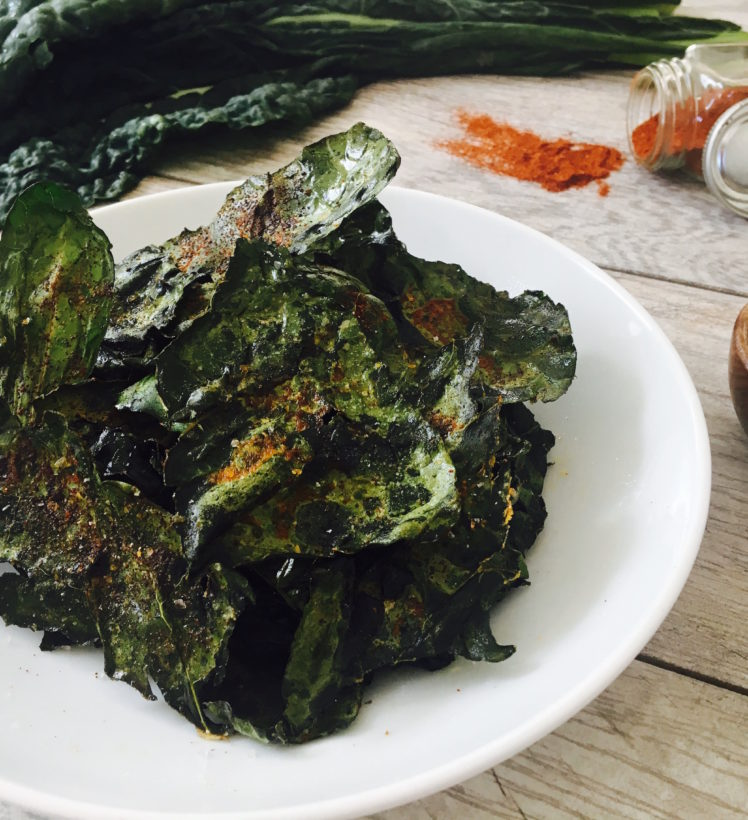 kale chips recipe avocado oil Baked Kale Chips with Avocado Oil