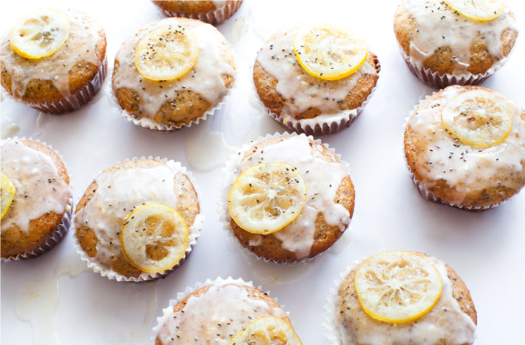 Fresh Lemon-Infused Chia Seed Ricotta Cakes