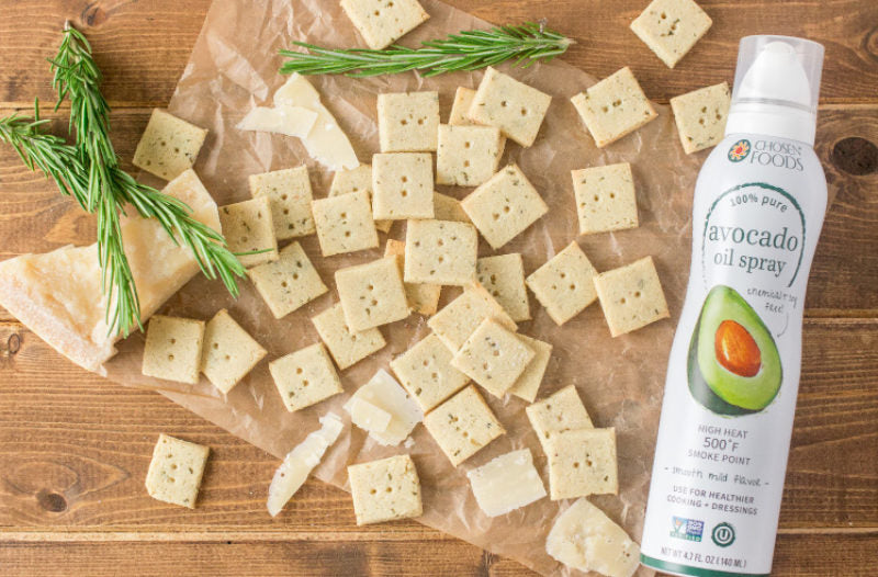 Parmesan Herb Crackers