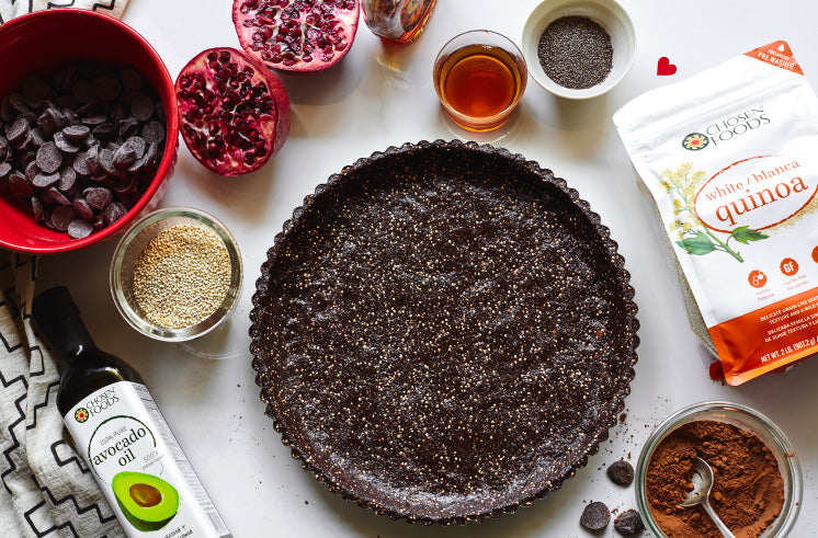 Quinoa Chocolate Tart