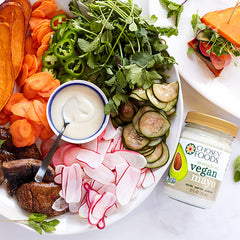 Bahn Mi Salad with Vegan Mayo image