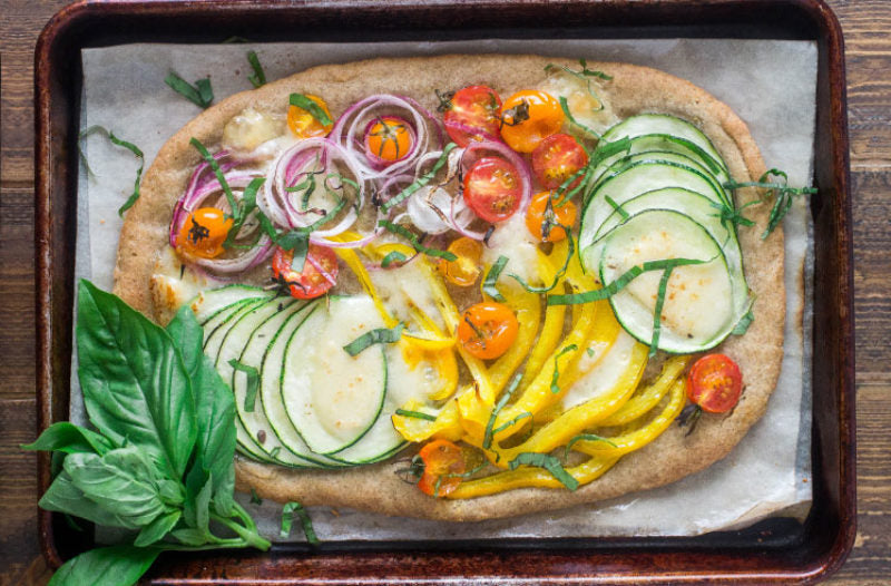 Hearty Veggie Pizza
