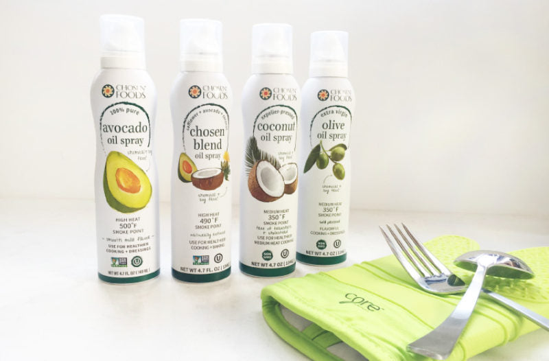 4 Reasons to Ditch Conventional Cooking Spray