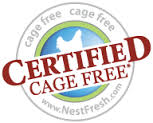 Certified Cage Free Eggs