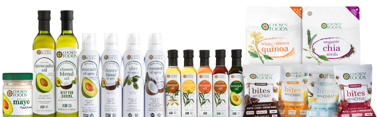 Chosen Foods Product Line