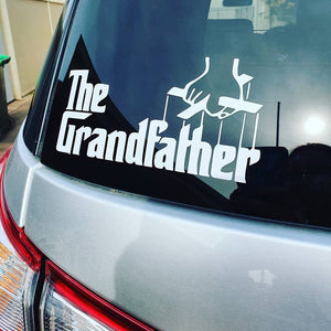 The Grandfather Decal