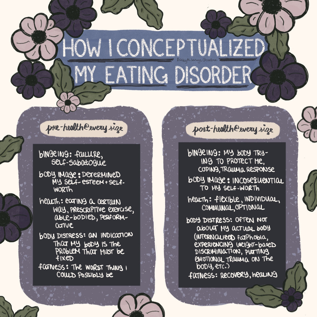 Health at Every Size Eating Disorder Recovery