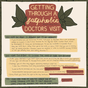 Fatphobic Doctor's Visit Guide