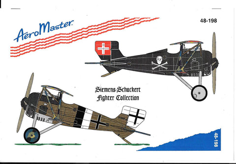 AeroMaster WWI Siemens-Schuckert Fighter Collection, Decals 1/48 198