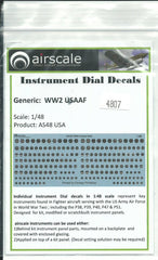 Airscale Decals 1//48 WWII USAAF INSTRUMENT DIALS