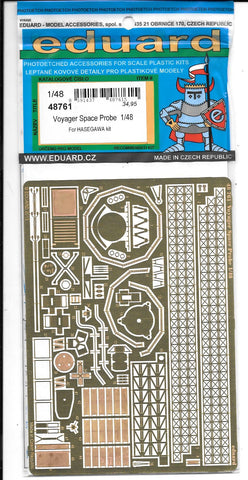 Eduard Voyager Space Probe Photo Etch Details 1/48 761 ST