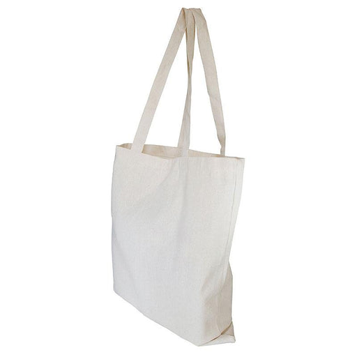 10oz Canvas Shopper with 3 sided Gusset