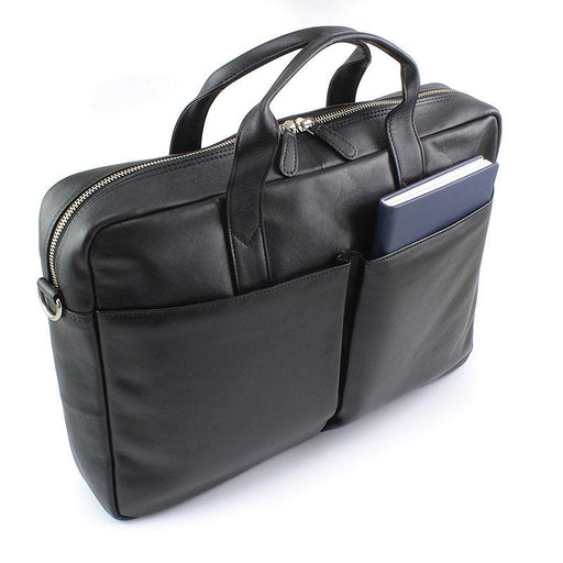 Sandringham Nappa Leather Commuter Laptop Bag