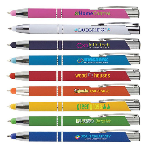 CROSBY SOFT-TOUCH STYLUS BALLPOINT PEN