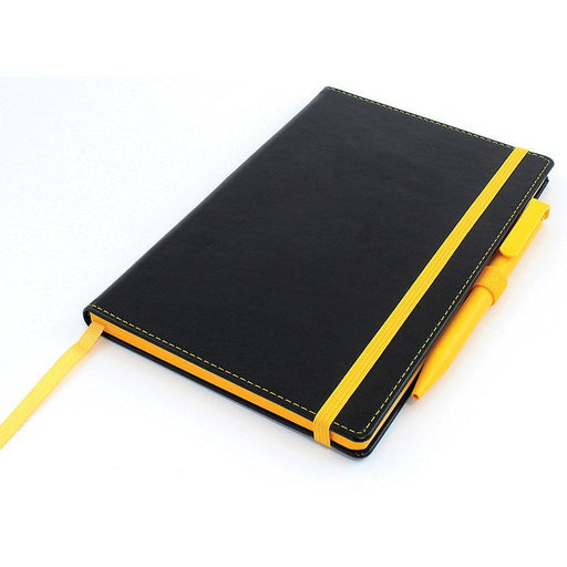 Accent A5 Notebook with Senator Pen