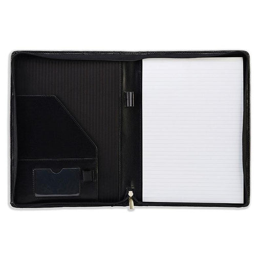 Ascot Leather A4 Zipped Conference Folder