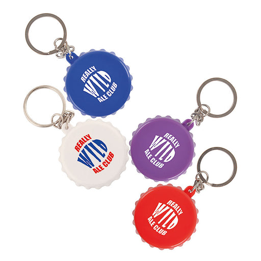 Bottle Lid Opener Keyring