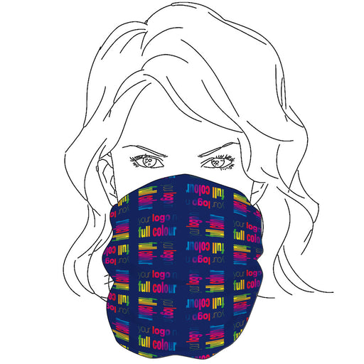 Branded Snood Face Coverings