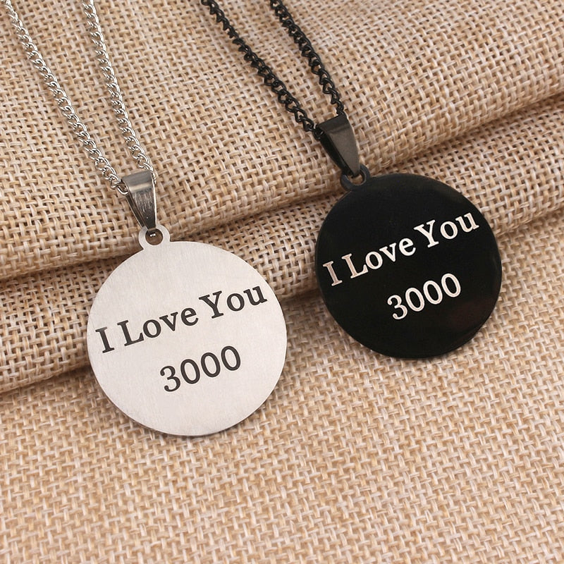 I Love You 3000 Necklace