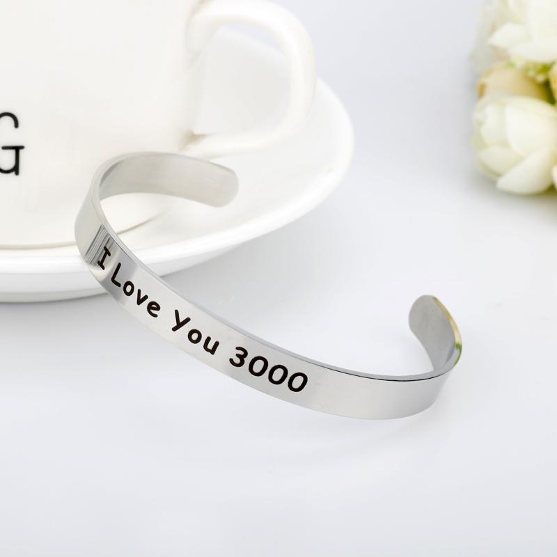 I love you 3000 Couple Bracelets