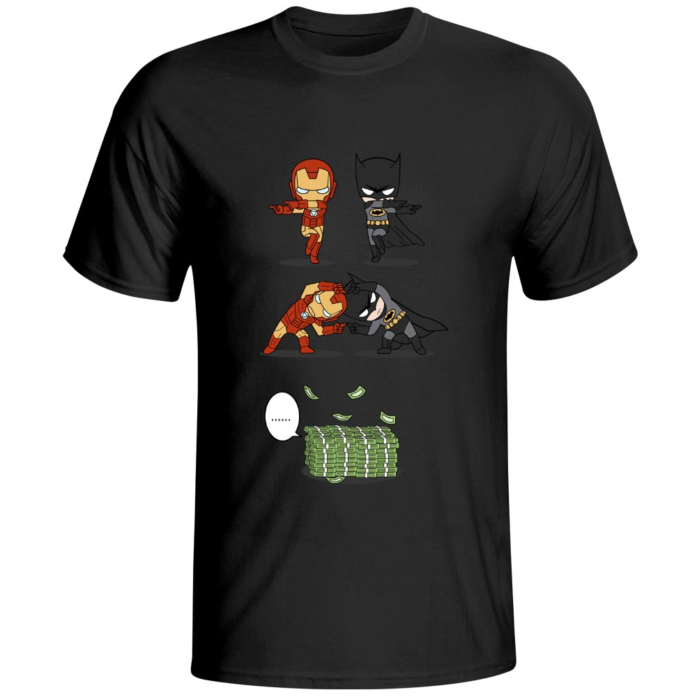 Iron Man Batman Fusion T-shirt