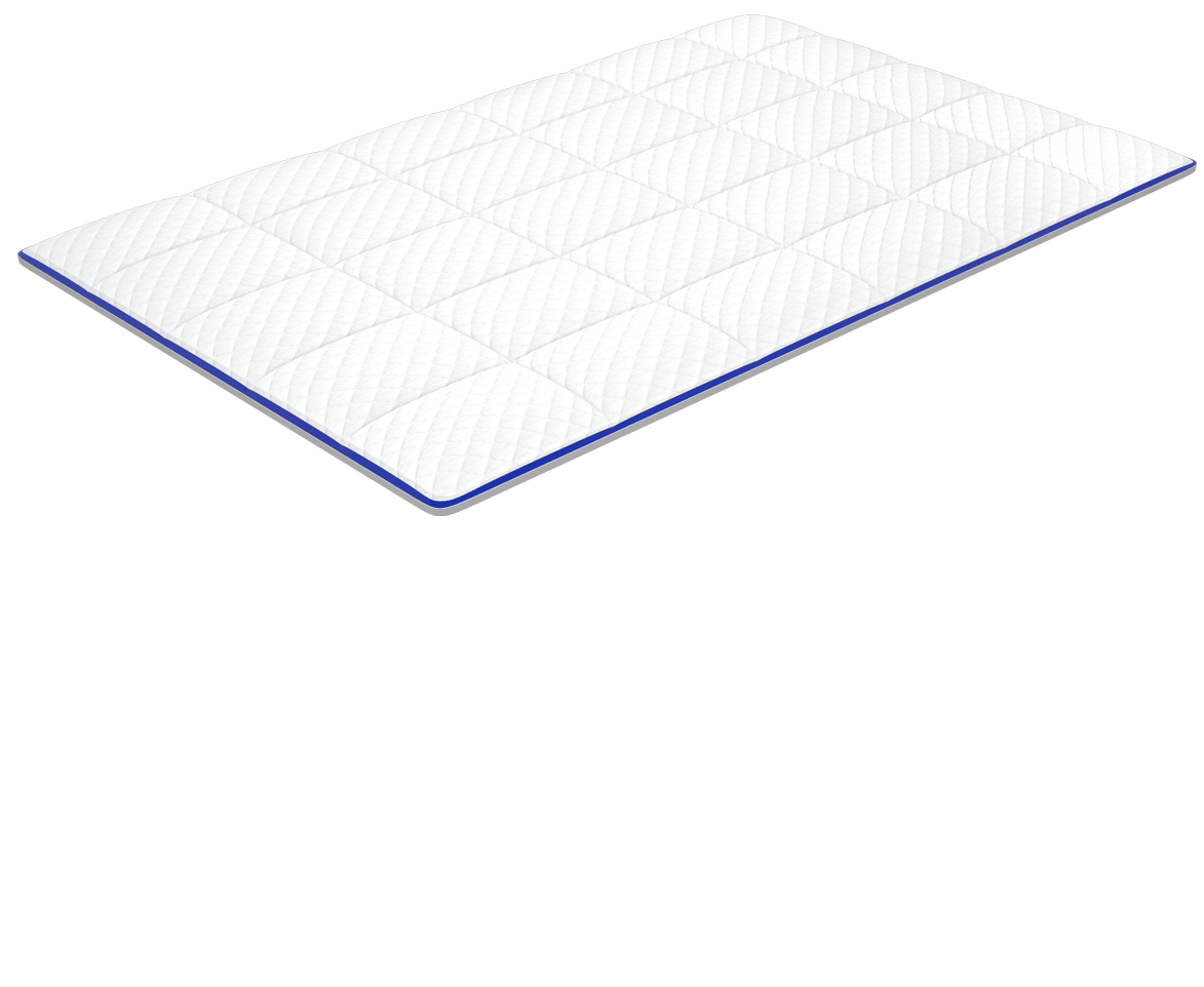 nectar's memory foam mattress - first layer - adaptive cooling cover