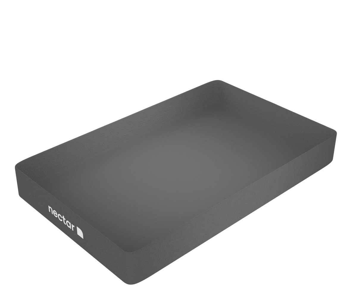 nectar's memory foam mattress - fifth layer - positioning base material