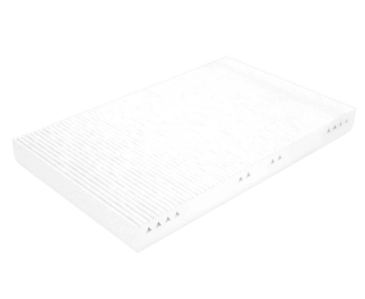 nectar's mattress - second layer - 7 zones of support for different body parts