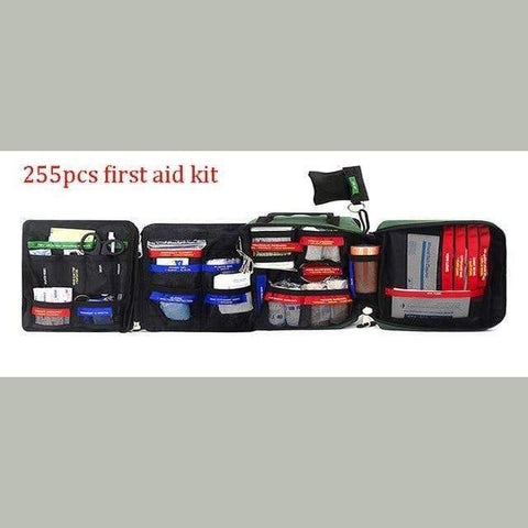 255 Pcs First Aid Kit Bag | WITH ITEMS - Texuh Port. The Business, Brand & Influencer Store. FREE SHIPPING ON ALL ORDERS. Influencer Marketing, Influencer Tools, Business Tools, Business Marketing, Content Creator.