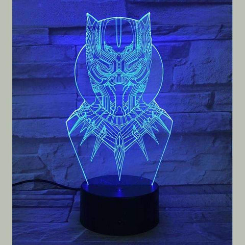 3D LED Black Panther Night Light | Black Panther 2 / 7 Colors Change - Texuh Port. The Business, Brand & Influencer Store. FREE SHIPPING ON ALL ORDERS. Influencer Marketing, Influencer Tools, Business Tools, Business Marketing, Content Creator.