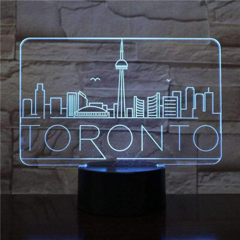 3D LED Toronto Skyline | - Texuh Port. The Business, Brand & Influencer Store. FREE SHIPPING ON ALL ORDERS. Influencer Marketing, Influencer Tools, Business Tools, Business Marketing, Content Creator.