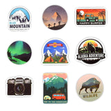 50-Pack Outdoorsy Stickers | - Texuh Port. The Business, Brand & Influencer Store. FREE SHIPPING ON ALL ORDERS. Influencer Marketing, Influencer Tools, Business Tools, Business Marketing, Content Creator.